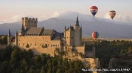 Hot air ballooning over Segovia
